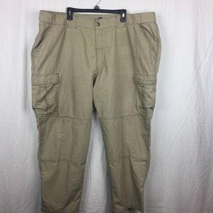 5.11 tactical khaki pants- 4XL
